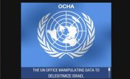 United Nations OCHA Report NGO Monitor